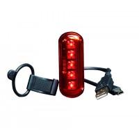 WOWOW aizmugurējais lukturis ar gaismas sensoru un USB uzlādi WO254.